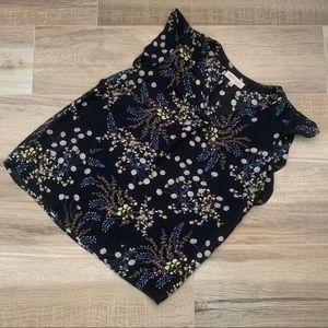 PHILOSOPHY black floral top